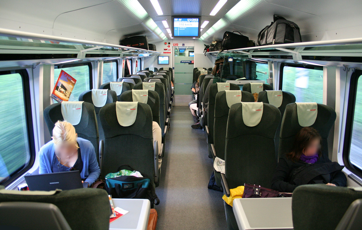 Railjet Austria S High Speed Train