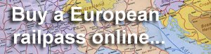 Buy a Eurail pass or other European railpass online