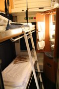 Seeing Europe with a Eurail pass:  A 2-bed City Night Line sleeper as used Amsterdam-Prague or Paris-Berlin
