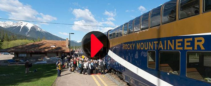 Click for virtual tour of the Rocky Mountaineer