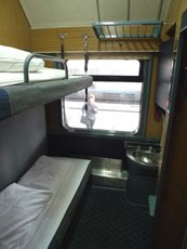 Vienna-Bucharest 2-berth sleeper