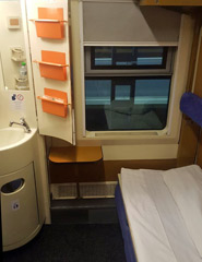 Sleeper on the Dacia Express