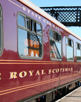 Royal Scotsman train...