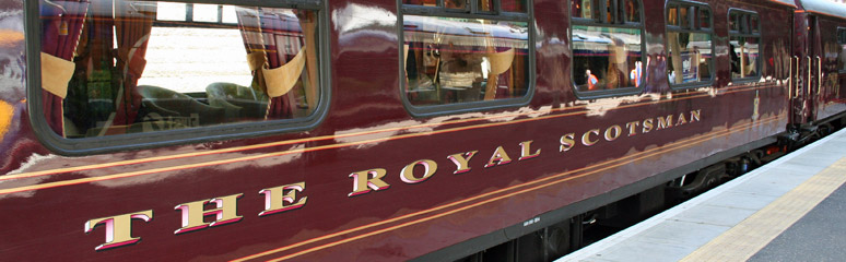 Prices for the royal scotsman