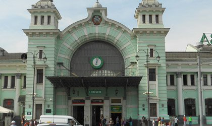 Byelorussia station in Moscow
