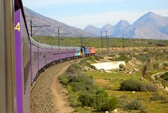 The Premier Classe train from Johannesburg to Cape Town