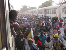 Dakar-Bamako train.  Photo courtesy of Hans Vulink.