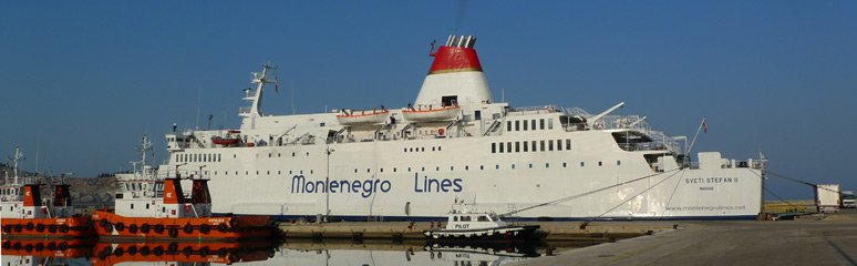 Montenegro Lines ferry from Bar to Bari