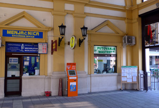 Wasteels office, Belgrade main station
