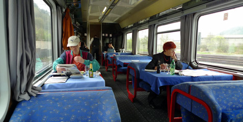 Slovenian restaurant car