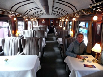 Inside the Andean Explorer from Cusco to Puno in Peru