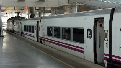 An Altaria train at Madrid Atocha