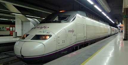 AVE from Barcelona to Lyon