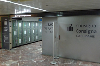 The Luggage Lockers At Barcelona Sants