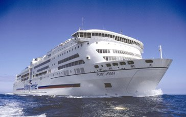 Brittany Ferries' ferry 'Pont Aven'
