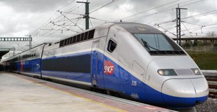 London to Barcelona by train, aboard a TGV Duplex