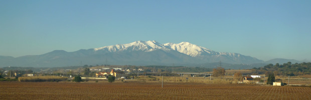 Mt Canigou in the Pyrenees