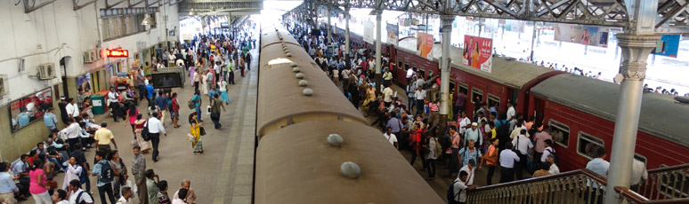 Platform 3 at Colombo Fort station