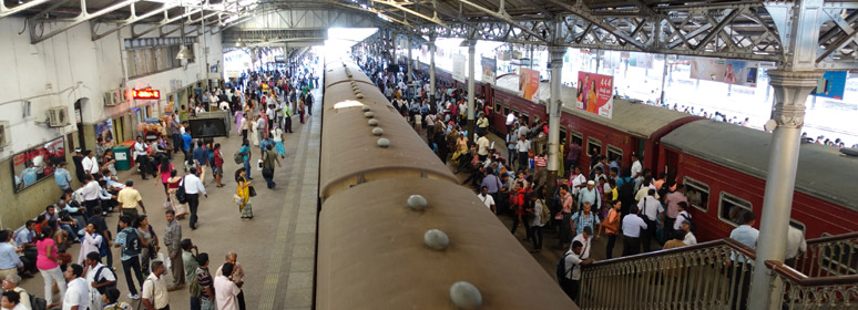 Inside at Colombo Fort station