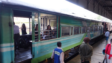 Exporail train
