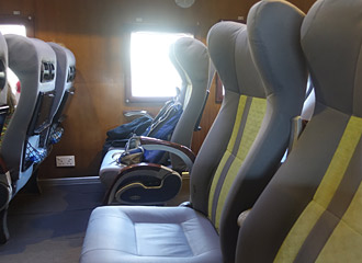 Exporail seats