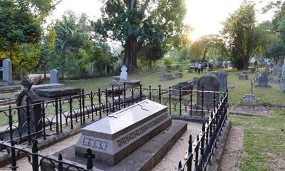 The Garrison Cemetery, Kandy