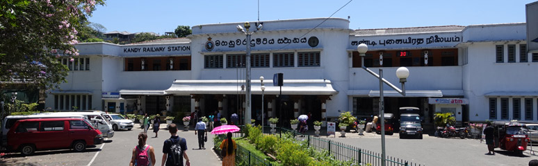 Kandy railway station