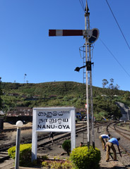 Signal at Nanuoya station