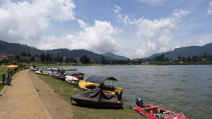 Gregory Lake at Nuwara Eliya