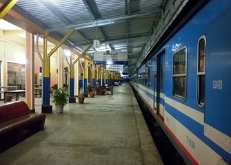 A train at Batticaloa