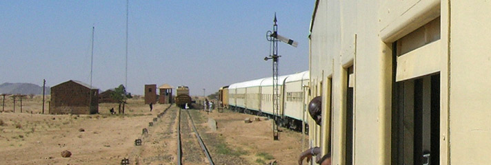 Train from Khartoum to Wadi Halfa