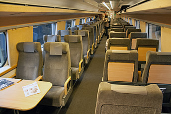 Copenhagen to Stockholm by X2000 train from 195 SEK (€22, $28)