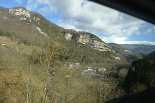 More scenery in southeast France, seen from the Geneva to Paris train