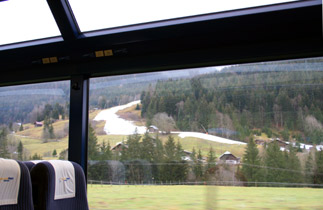 Ski run at Gstaad...
