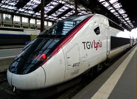 TGV-Lyria to Switzerland:  Relaxed and easy!