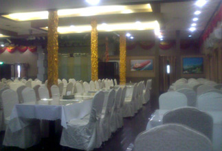 Restaurant on China to Taiwan ferry