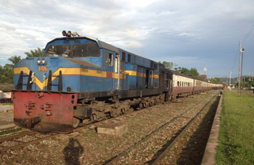 Dar es Salaam to Mwanza train