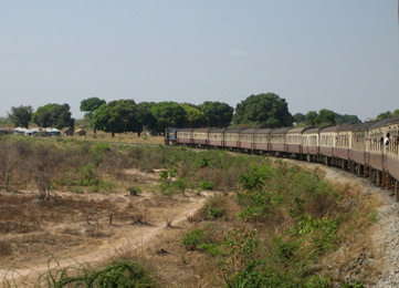 Tanzania Railways train to Mwanza