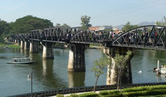 The Bridge on the River Kwai...
