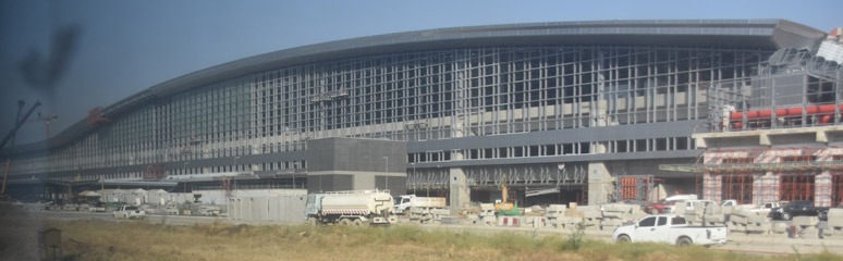 Bangkok Bang Sue rail terminal under construction