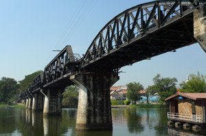 The Bridge over the River Kwai...