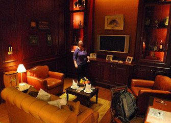 Suite in the old block at the Mandarin Oriental Hotel