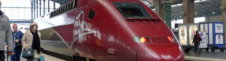 A Thalys train at Paris