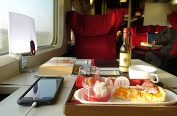 Premium food on Thalys