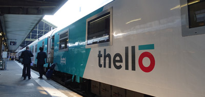 The Thello sleeper train from Paris to Venice