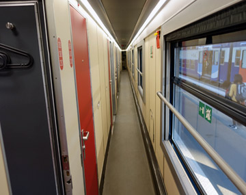 Paris to Venice by Thello sleeper train | Buy tickets from €29