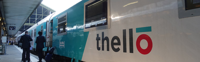 Paris to Venice by Thello sleeper train   Buy tickets from €29