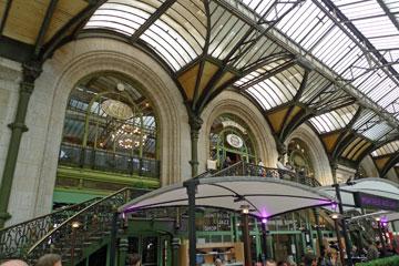 The famous Train Bleu restaurant at Paris Gare de Lyon