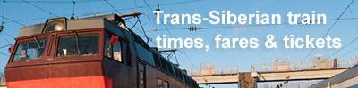 Buy Trans-Siberian tickets