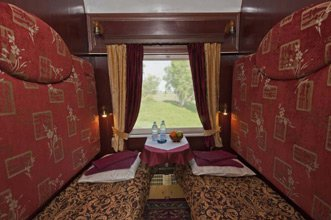 Category 2 superior sleeper on Trans-Siberian private train